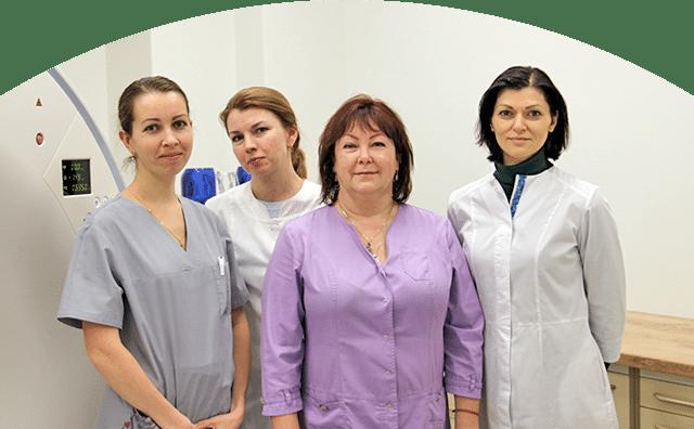 Врачи-рентгенологи с большим опытом